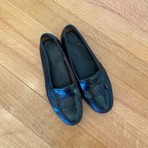 Cole Haan Black Leather Loafers Size 11